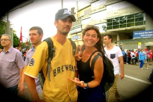Happy Brewers Fan.