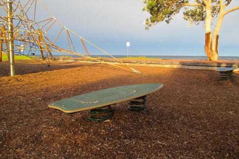 surfboard playground